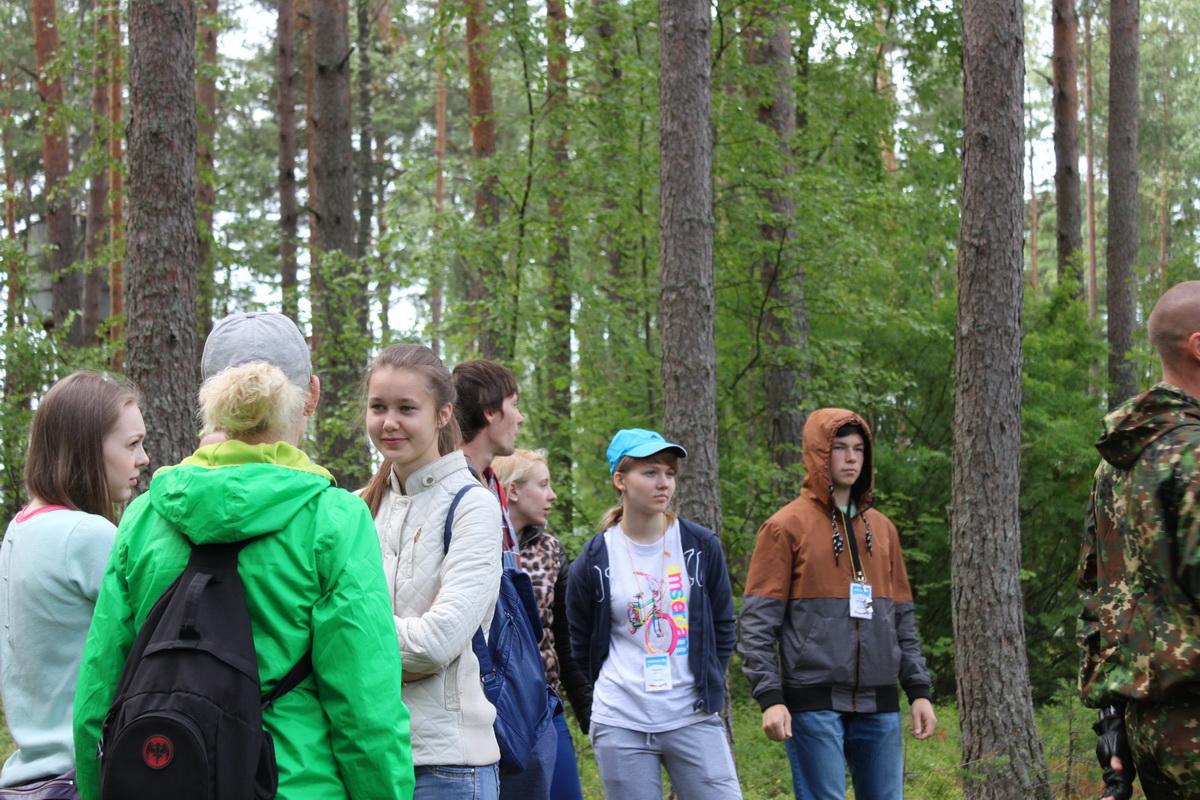 игры на знакомство с местностью в лагере
